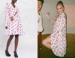 Anne-Marie's Chopova Lowena Mesh-Button Detail Dress