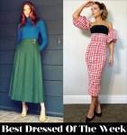 Best Dressed Of The Week - Karen Gillan in Alberta Ferretti & Kate Beckinsale in Christian Siriano