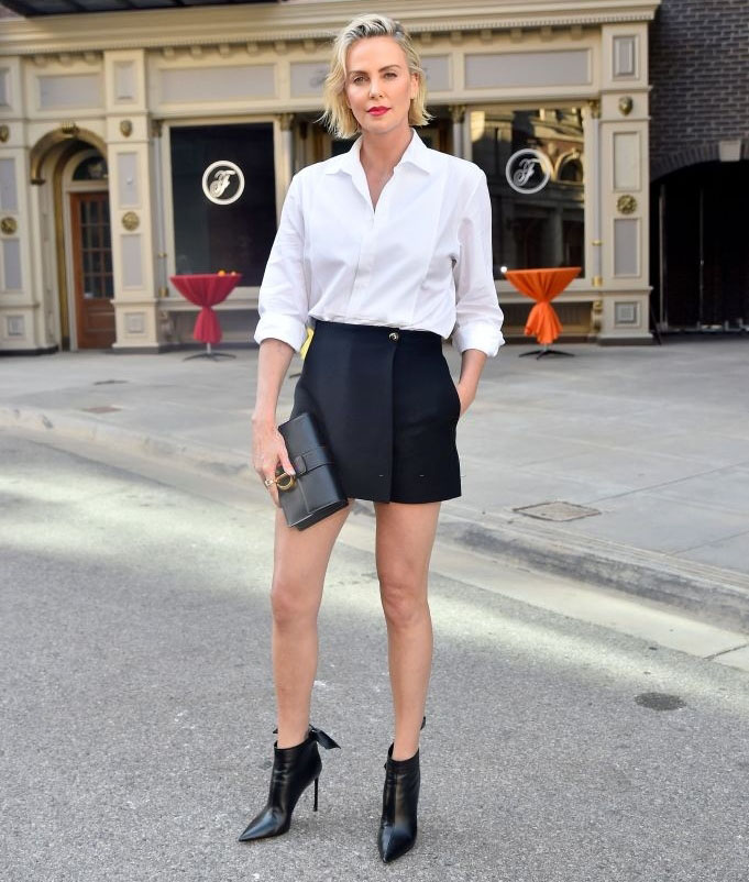 Charlize Theron Wore Christian Dior To The  CTAOP's Night Out 2021: Fast And Furious Event