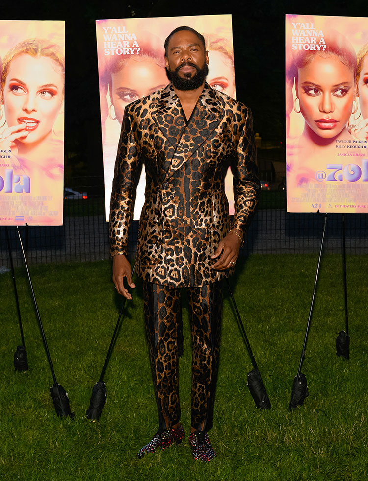 Colman Domingo Wore Dolce & Gabbana To The 'Zola' Special Screening
