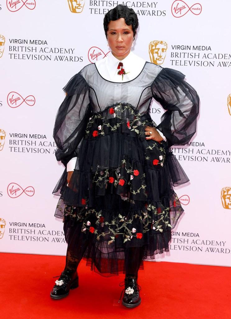 Golda Rosheuvel Wore Simone Rocha To The 2021 BAFTA TV Awards