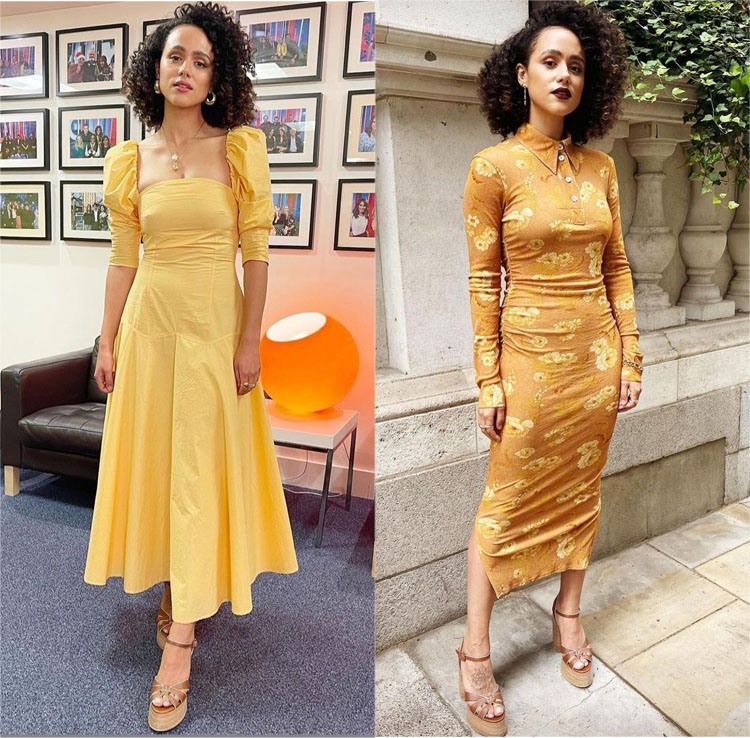 Nathalie Emmanuel Promotes 'F9: Fast & Furious' With Three New Looks