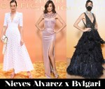 Which Was Your Favourite Nieves Álvarez x Bvlgari MAGNIFICA Look?