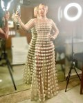 Rita Ora Wore St. John To Vas J Morgan's Pride 2021 Party