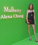 Alexa Chung Wore Magda Butrym To The Mulberry X Alexa Chung Dinner Party