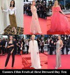 Who Was Your Best Dressed On Day Ten Of Cannes Film Festival?