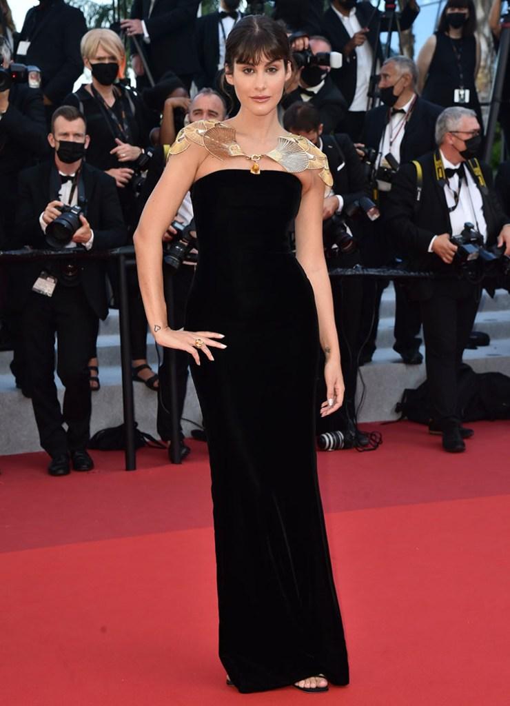 Nour Arida Jean Paul Gaultier  'Tre Piani (Three Floors)' Cannes Film Festival Red Carpet