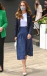 Catherine, Duchess Of Cambridge Wore Alessandra Rich To The Wimbledon Tennis Championship