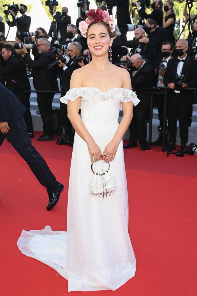 Haley Lu Richardson Wore Rodarte For The 'Stillwater' Cannes Film Festival Premiere