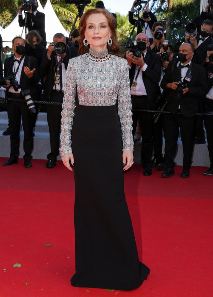 Isabelle Huppert Wore Louis Vuitton To The 'Aline, The Voice Of Love' Cannes Film Festival Premiere
