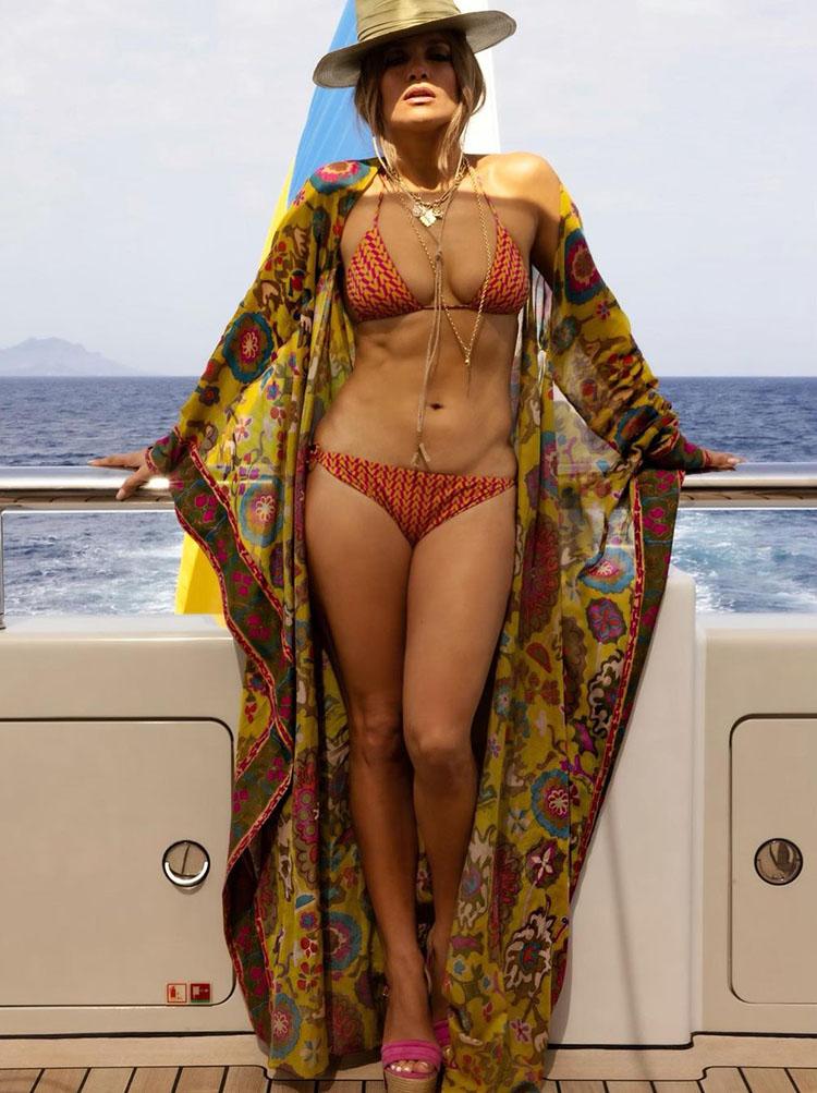Jennifer Lopez Celebrates Her 52nd Birthday In Valentino Escape