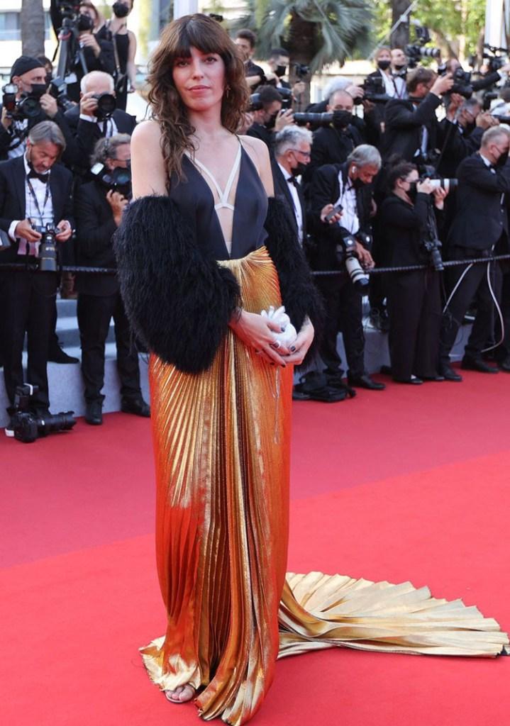Lou Doillon in Gucci - 2021 Cannes Film Festival