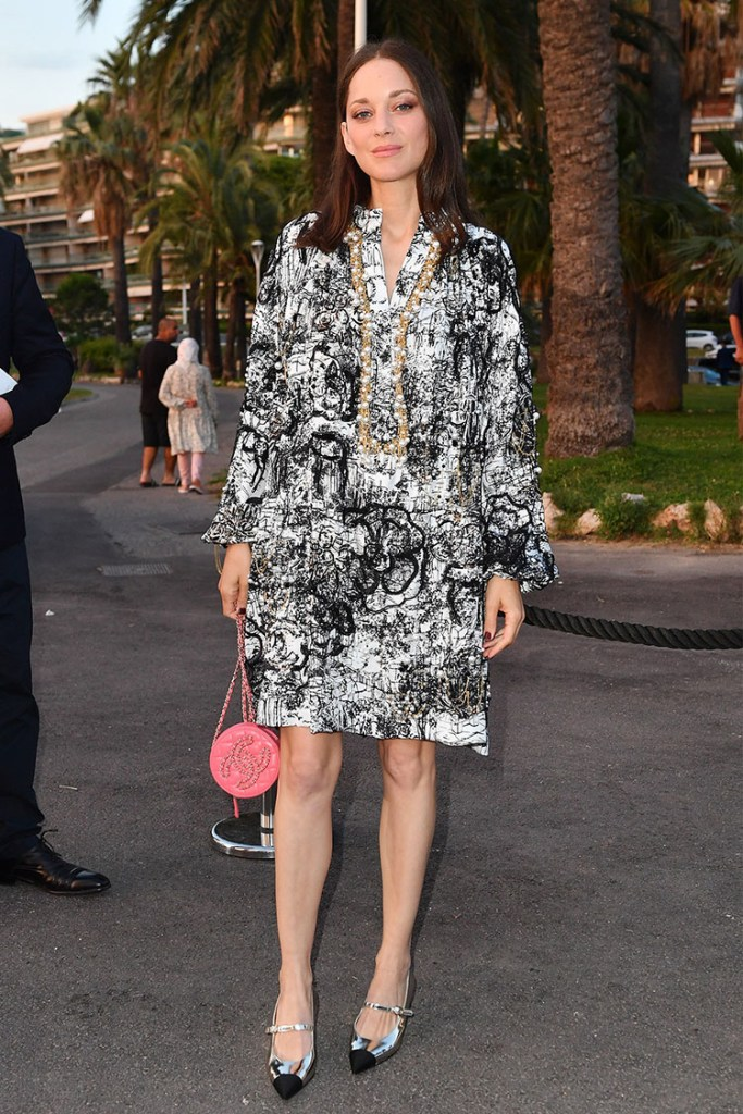 Marion Cotillard Wore Chanel To The Chanel Cannes Dinner Party