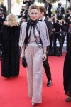 Melissa George Wore Armani Prive To The 'De Son Vivant (Peaceful)' Cannes Film Festival Premiere