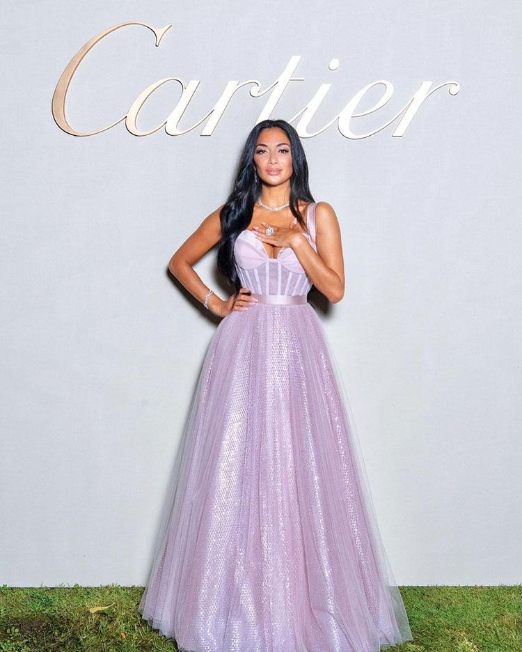 Nicole Scherzinger Wore Azzi & Osta For The Cartier Lake Como Event