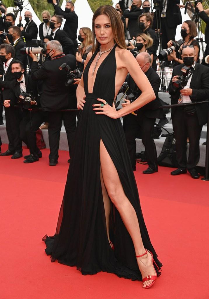 Nieves Alvarez Wore Philosophy Di Lorenzo Serafini To 'The French Dispatch' Cannes Film Festival Premiere