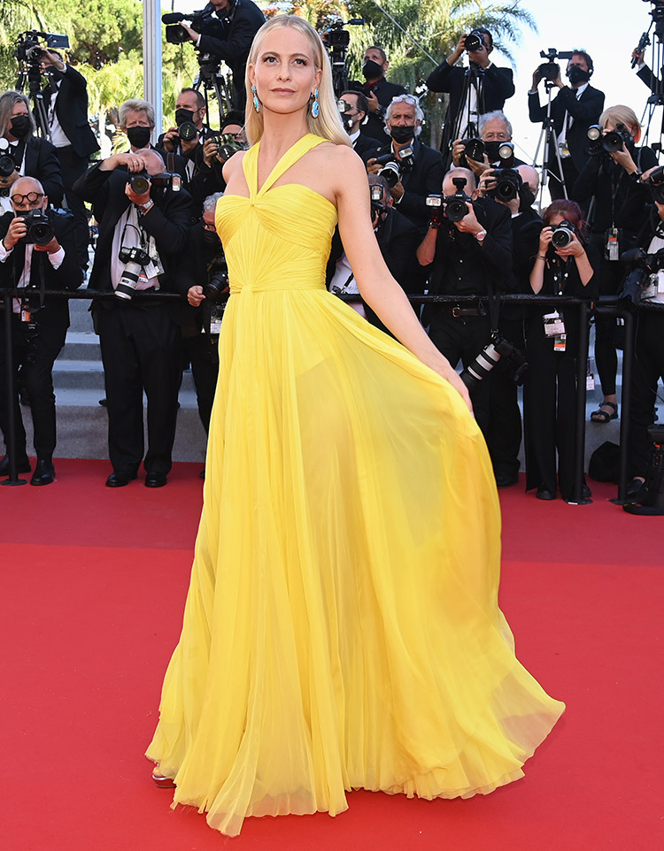 Poppy Delevingne Wore Dolce & Gabbana To To 'A Felesegam Tortenete/The Story Of My Wife' Cannes Film Festival Premiere