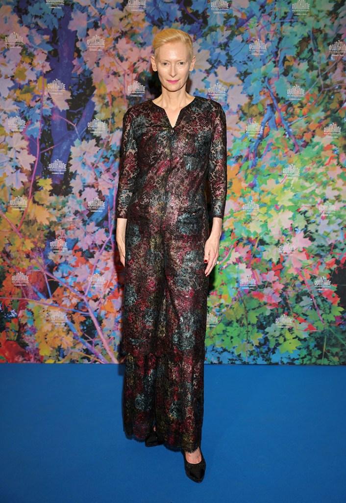 Tilda Swinton Wore Chanel To 'The Souvenir Part 2' Cannes Film Festival Screening