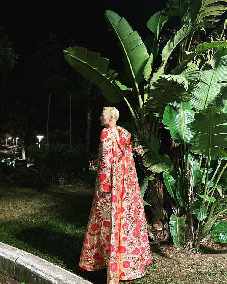 Tilda Swinton Wore The Vampire's Wife To The 'Vortex' Cannes Film Festival Premiere