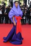 Tina Kunakey Wore Valentino Haute Couture To The 'Benedetta' Cannes Film Festival Premiere