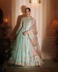 Sonam Kapoor Wore Anamika Khanna Couture To Rhea Kapoor's Wedding