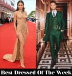 Best Dressed Of The Week - Zendaya In Balmain & Regé-Jean Page In Ozwald Boateng