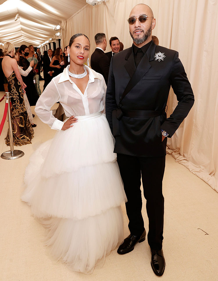 Alicia Keys in AZ Factory - 2021 Met Gala