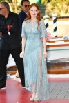 Jessica Chastain Wore Elie Saab For 'The Hand Of God' Drinks Reception