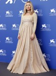 Kate Hudson Wore Dior & Valentino For The 'Mona Lisa And The Blood Moon' Venice Film Festival Photocall & Premiere