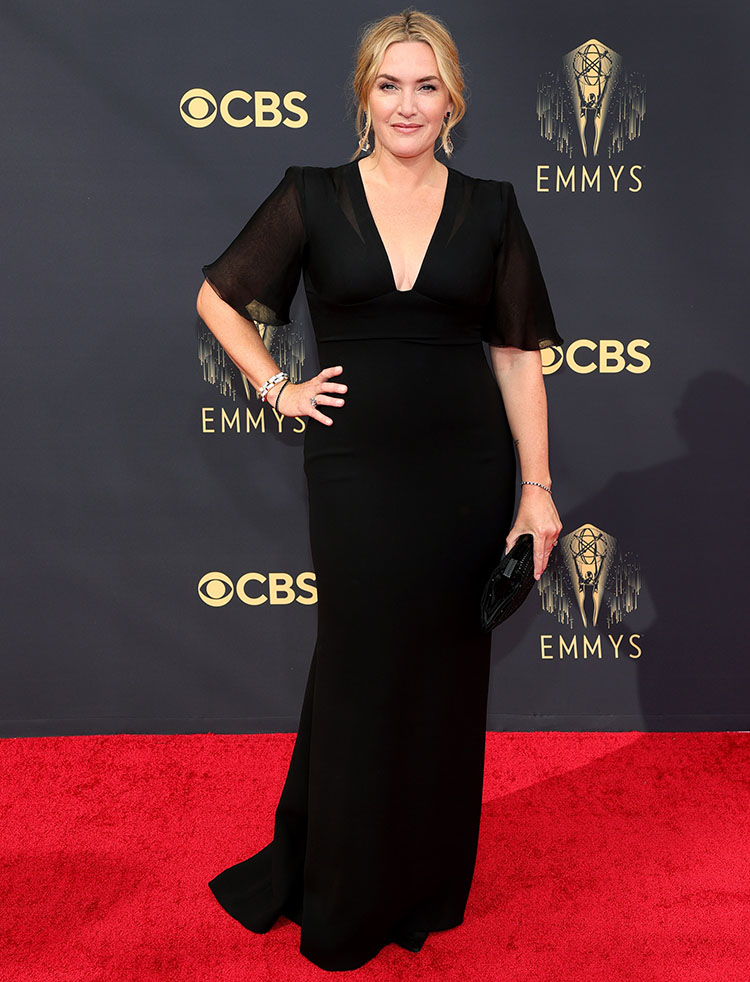 Kate Winslet Wore Armani Prive To The 2021 Emmy Awards