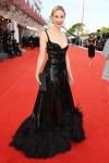 Sarah Gadon Wore Alexandre Vauthier Haute Couture To The 'Dune' Venice Film Festival Premiere