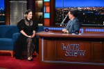 Sarah Paulson Wore Elie Saab On The Late Show with Stephen Colbert
