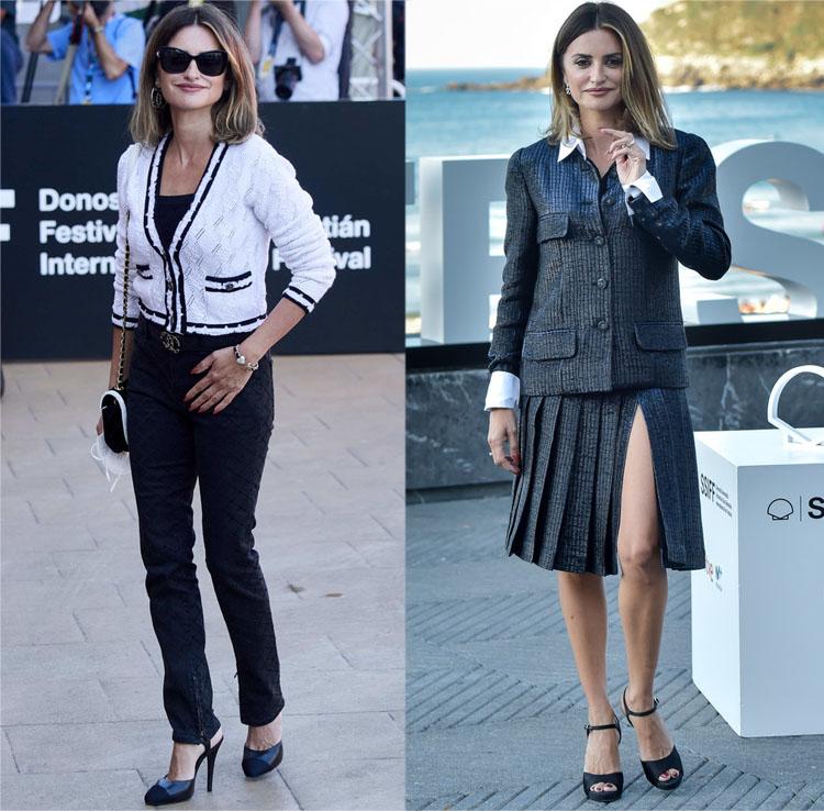 Penelope Cruz Wore Chanel Haute Couture & Atelier Versace During The 2021  San Sebastian Film Festival