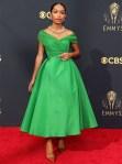 Yara Shahidi Wore Dior Haute Couture To The 2021 Emmy Awards
