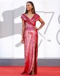 Zoe Saldana Wore Dolce & Gabbana To 'The Hand Of God' Venice Film Festival Premiere