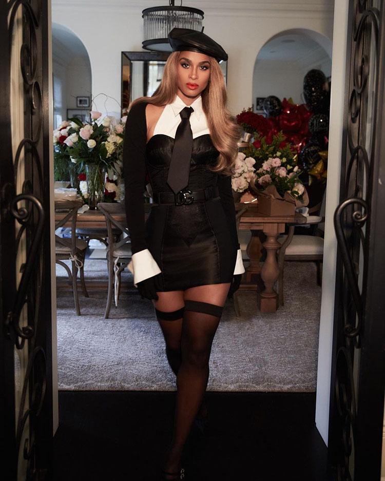 Ciara Celebrates Her Birthday In Vintage Dolce & Gabbana