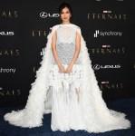 Gemma Chan Wore Louis Vuitton To The 'Eternals' LA Premiere