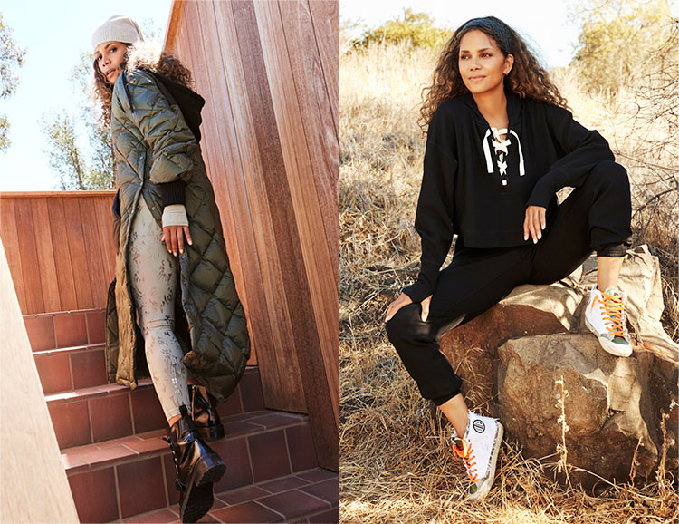 Halle Berry x Sweaty Betty – The rē•spin Edit Fall Collection