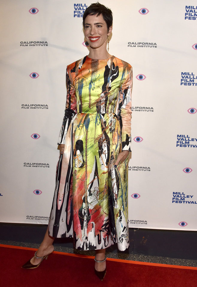 Rebecca Hall Wore Christopher Kane To The 'Passing' Mill Valley Film Festival Screening