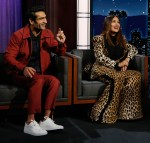 Salma Hayek Wore Elie Saab On Jimmy Kimmel Live!