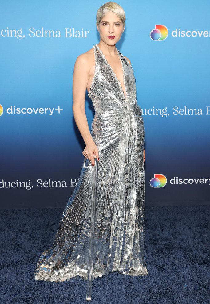 Selma Blair Wore Jenny Packham To The 'Introducing, Selma Blair' LA Screening
