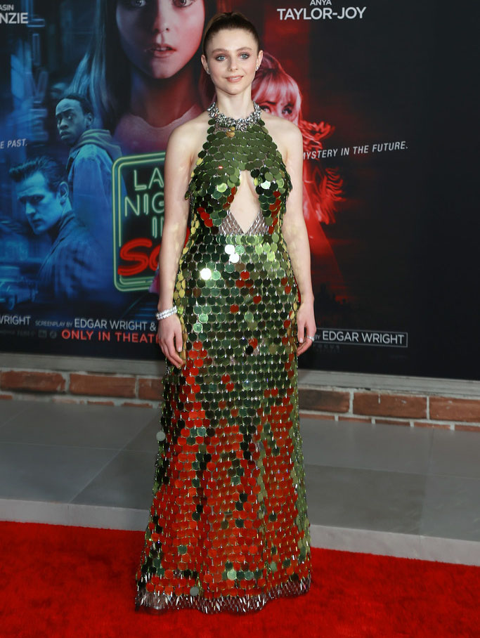 Thomasin McKenzie Wore Gucci & Chanel To The 'Last Night In Soho' LA Premiere & Newport Beach Film Festival