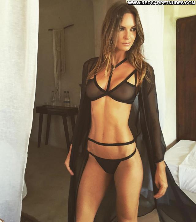 Natalie Jayne Roser No Source Winter Bikini Celebrity Redneck Posing