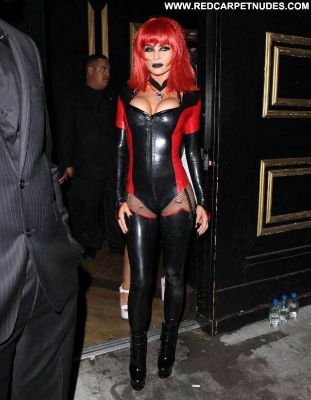 Carmen Electra Halloween Party Halloween Beautiful Babe Party Posing
