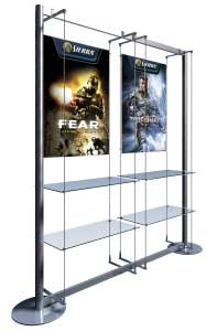 poster and graphic displays