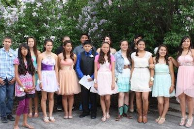 Eighth Graders Celebrate Graduation - Red Cloud Indian School