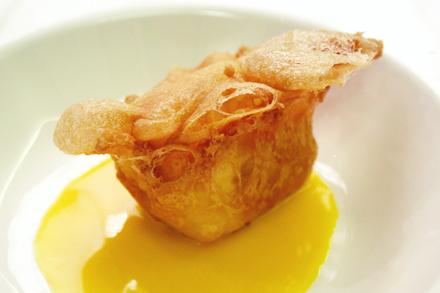 Crispy Durian Ice-Cream
