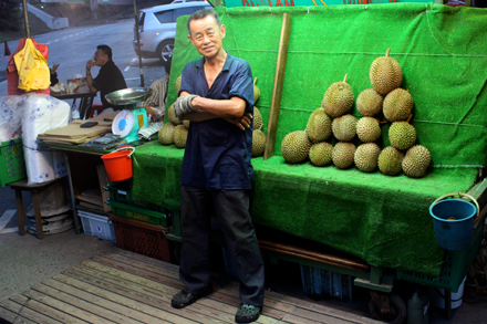 Durian Man Near Dempsey Hill Singapore