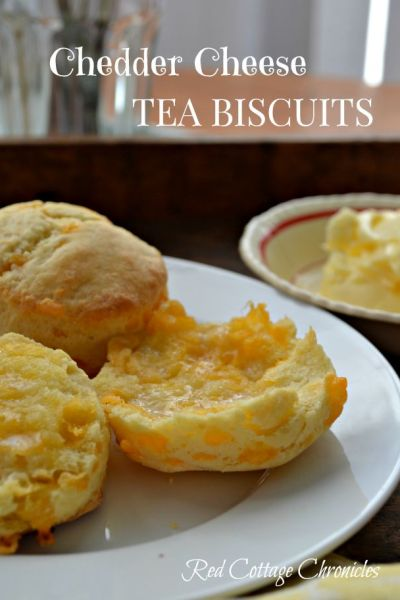 The Very Best Cheddar Cheese Tea Biscuits