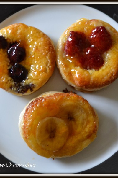 Puff Pastry Fruit Tarts